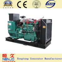 super silent 100kw diesel generator price power by NENJO YC6B180-D20 diesel engine