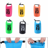 custom Logo waterproof ocean pack outdoor pvc small swimming tarpaulin drybag 2L-30L dry bag waterproof for sports