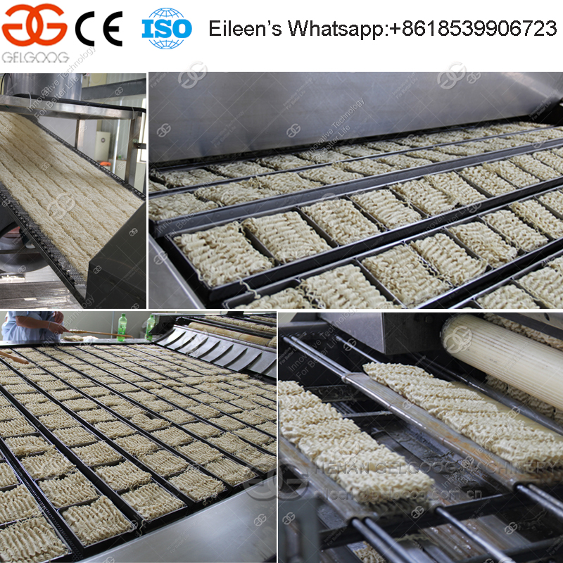 Automatic Chinese Chow Mein Making Machinery