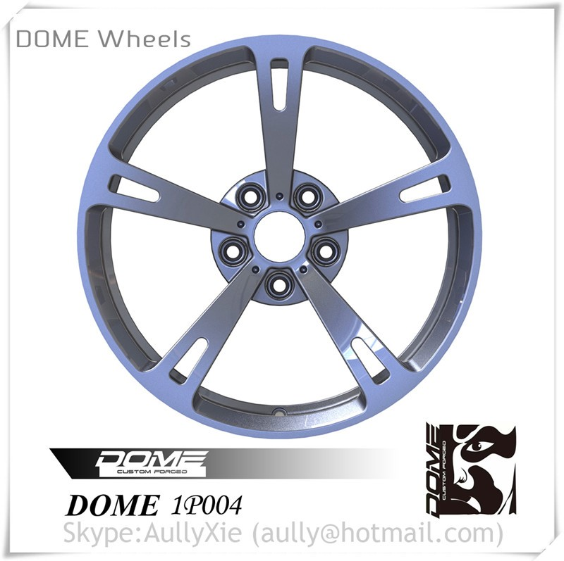 Factory Price 18' 19' Gunmetal Customized Forged Wheel Rims,Aluminium Alloy Wheel, DOME 1P004 Car Wheels for Sell