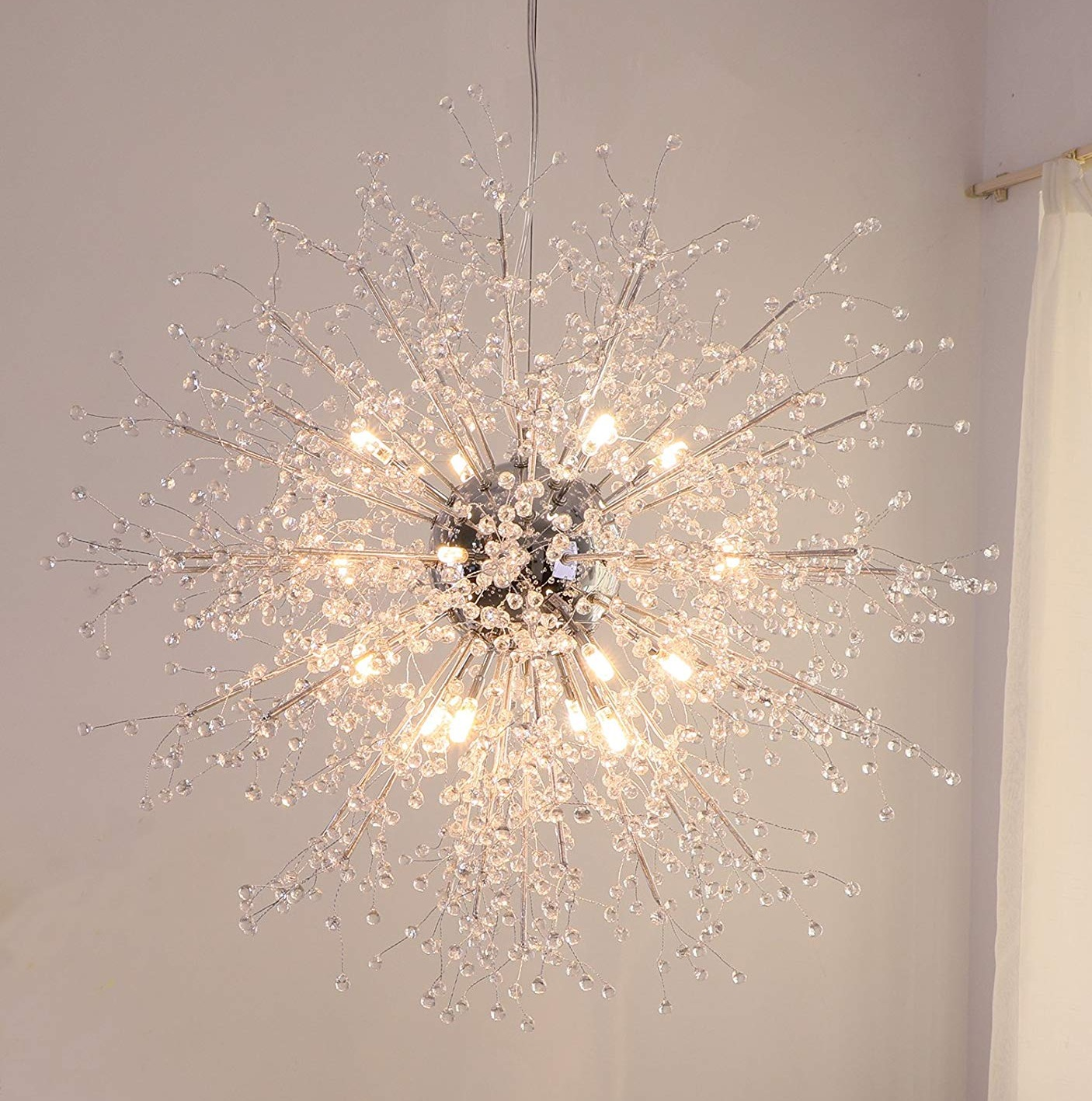 T03 modern designing hanging holiday decorative crystal lighting lamp light fixture chandelier pendant led light from china