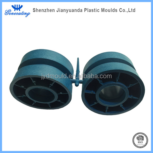 Custom tooling and production of plastic wheels for children motorbike