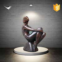 naked woman bronze sculpture