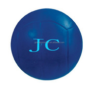 2015 hot sale blue soccer ball pu anti stress balls for promotion gifts