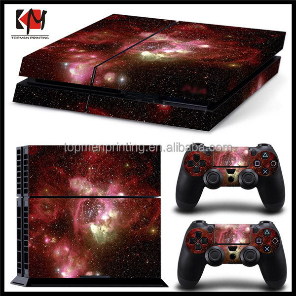 Popular hot-sale skin for PS4 console sticker