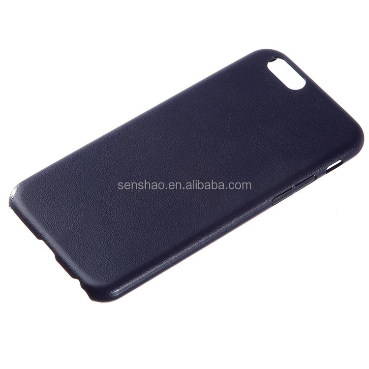 cheap OEM hot selling super thin Phone Case Soft TPU + PU leather Back Cover for iphone5 6 6plus with high-quality