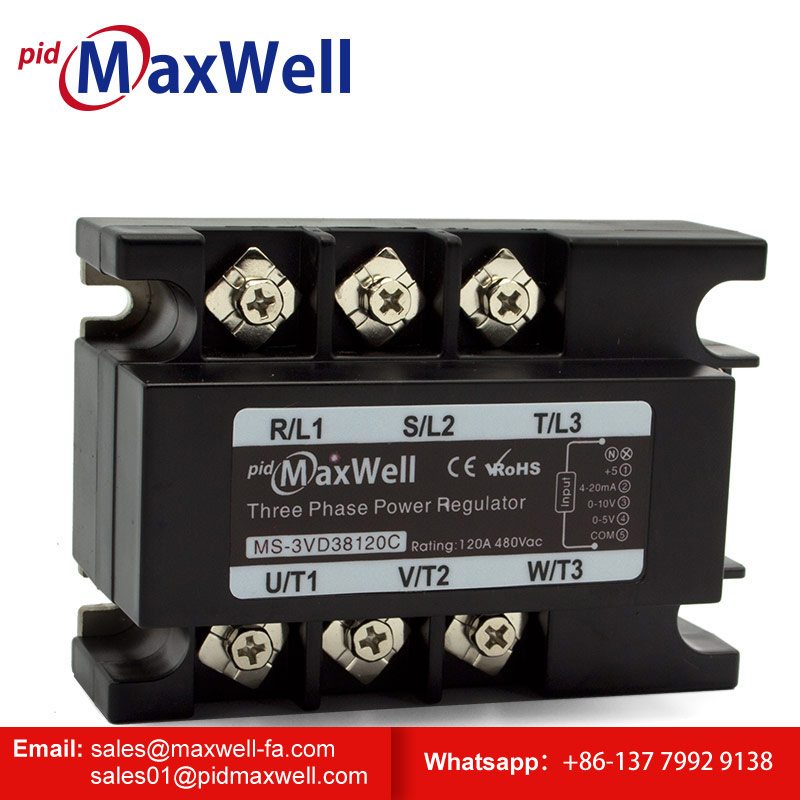 Maxwell MS-3VD38120 thyristor power controllers