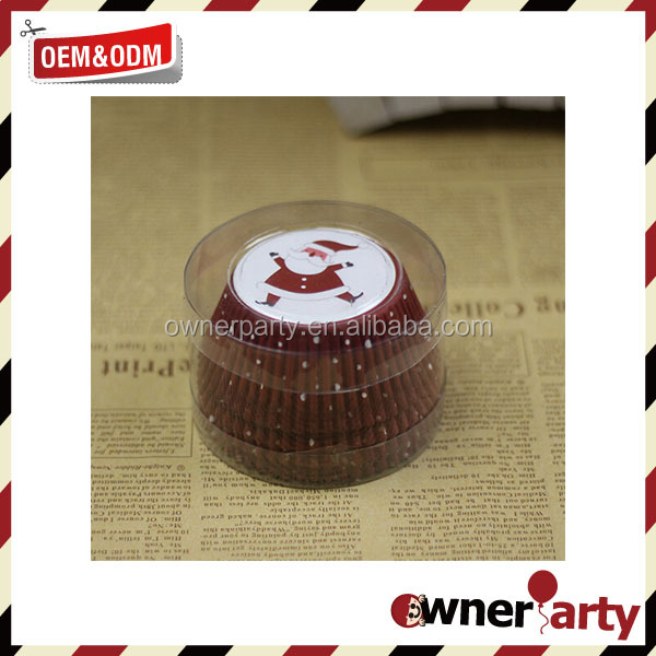 Christmas Decoration Cup Cake Wrappers Wholesale CupCake Wrappers
