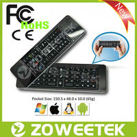 IR Remote control Wireless Keyboard With Speaker and Microphone