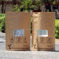 2015 Food grade Popular wrapper cheap kraft paper bag/spices packaging