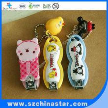 Cartoon Animal Plastic Nail clippers with good quality