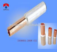 DTL bimetal cable tube/copper and aluminum cable sleeve