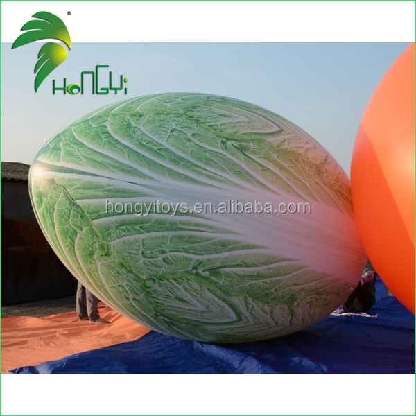 Large inflatable fruit and vegetables , cabbage balloon for advertising