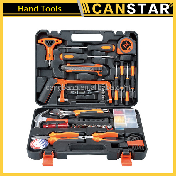 82pcs Multifunctional with the flashlight free sample hand tools set /car repair tool
