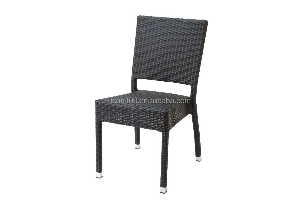 Simple Aluminum Dining Room Chair With Armless Design Wicker Buy Simple Alu