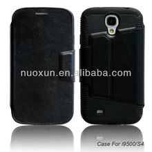 New style cell phone case for sumsung galaxy s4 i9500 leather