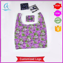 Wholesale Cheap Reusable Folding Felt Nylon Shopping Bag