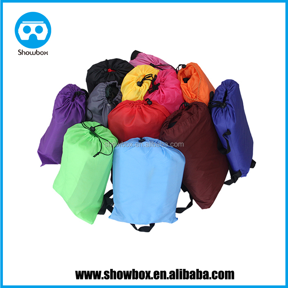2017 Latest Fashion One Mouth Laybag, Lightweight Inflatable Air lounger Sleeping Bag manufacturer