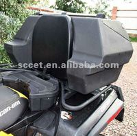 180L Black ATV Rear Box for 250cc yamaha atvs