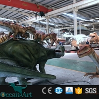 OAZ3602 Hot-selling Best Quality Theme Exhibition Animatronic Dragon For Hire Real Size Animal Model