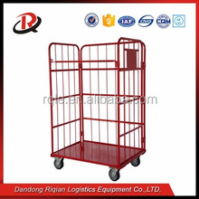 Heavy Duty Roll trolley cart, wheel display rack