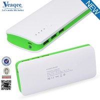 Veaqee universal battery charger ultra thin card powerbank portable powerbank 10000mah/credit card power bank