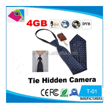 Neckties 720p Hidden 4G spy tie Camera Mini Camcorder audio video recorder mini hidden camera with remote control Detection DVR