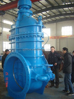 DN1200 METAL SEAT GATE VALVE WITH BYPASS VALVE