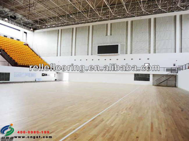 pvc sports flooring covering with waterproof and excellent resislient