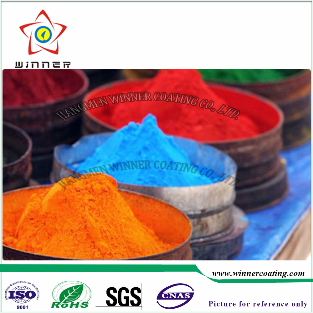 Orange color/blue color/red color iron oxide powder paint electrostatic Powder <strong>Coatings</strong>