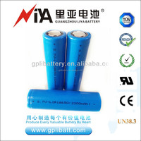 Hot sale 3.2V LiFePO4 battery 3.7V ICR18650 lithium ion battery rechargeable battery widely used for power bank