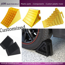 Wholesale customized high quality and factory price truck/ car/ motorcycle adjustable plastic wheel chock