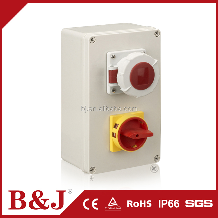 B&J Outdoor Plastic Enclosure Waterproof Types Of Electrical Junction Boxes
