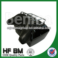 Pakistan motorcycle luggage,motorcycle tail box with LED light,super quality and best price