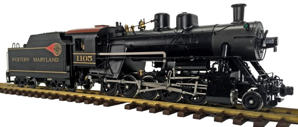 G1 Russian Decapod , 1:32 Live Steam Locomotive