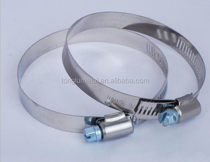 high temperature / pressure hydraulic hose clamp