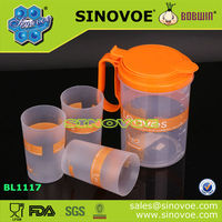 hot selling cheap price cool water jug with 3pcs cubs