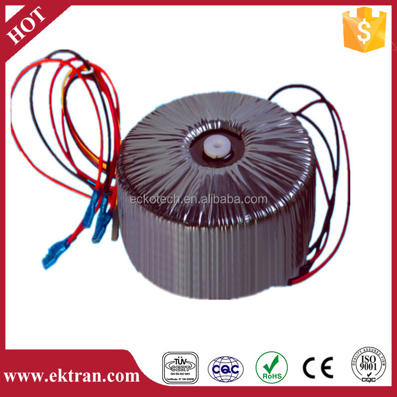 Toroidal ac street solar lighting electrical power transformer 24v