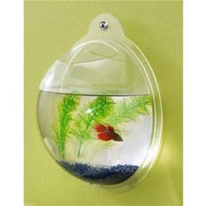 VC-013 customize wall mount acrylic fish bowl