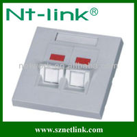 network product SC fiber optic face plate 86*86mm