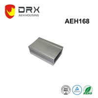 Aluminum extrusion for heatsink housing for PCB housing aluminium extrusion case
