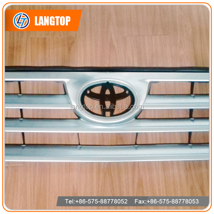 Car parts customized size grill for japan car Highlander model