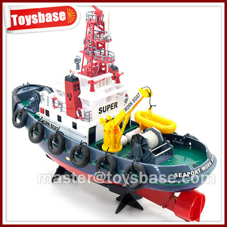 RC model tug boats