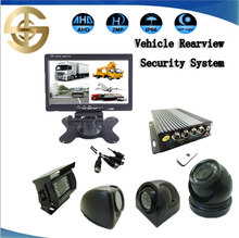 AHD 720P IR Mini Mobile Car Security Camera Inside Lorry with 7 inch AHD monitor