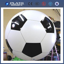 hanging advertising balloon, light helium balloon, inflatable football