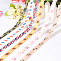 Customized country flag ribbon