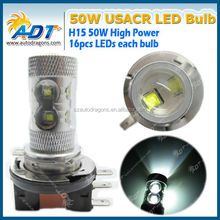 H1 H3 H4 H7 H8 H9 H10 H11 H15 High power super bright LED Headlamp 900lumen cre e led chip