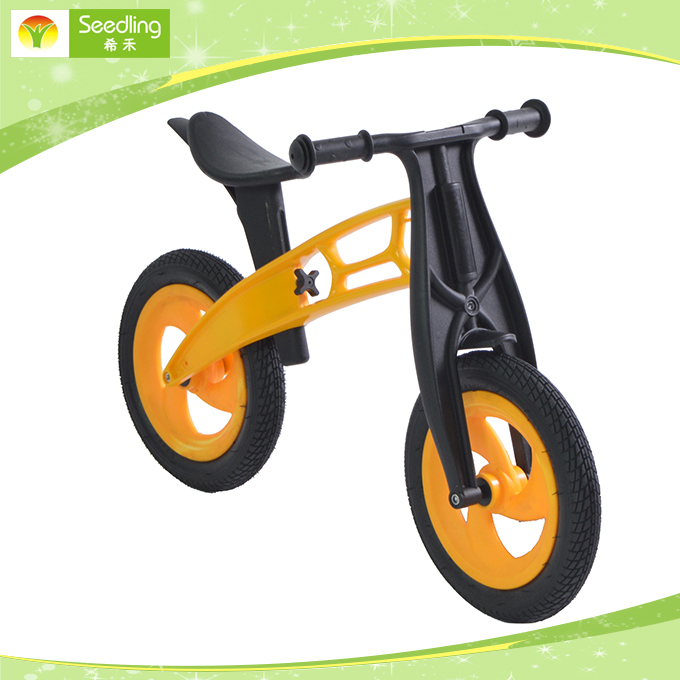Balance bikes for children outdoor plastic rubber children kids balance bike