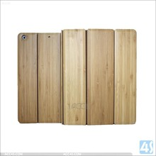 Newest arrival three folding high quality wholesale bamboo case for ipad 5