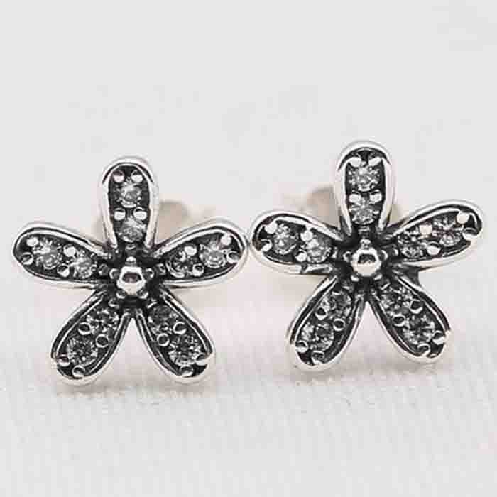 OEM diamond women earring from european Daisy Earring For European Jewelry